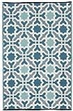 FAB HAB Seville - Mehrfarben- blau (120cm x 180cm)