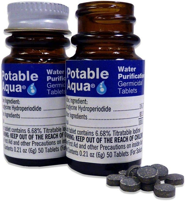 50 Count, Germicidal Water Purification Tablets Twin Pack