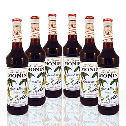 Monin Grenadine (6 Flaschen á 700ml)