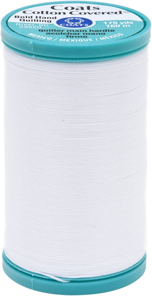 Coats Bold Hand Quilting 175-Yard Thread Sales Inexpensive for sale White