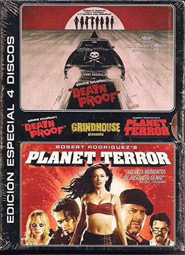 Pack Grindhouse: Death Proof y Planet Terror