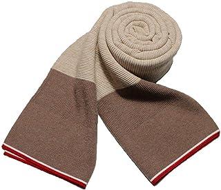 Ropa Bufanda Rayas Clásicas Moda Warp Jacquard Suave y cómoda Simple Salvaje Casual Hombres de negocios Cálido bufanda de doble uso