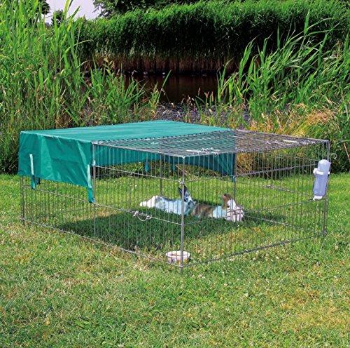 Trixie 6259 natura Sonnenschutz für Freilaufgehege, 116 × 72 cm