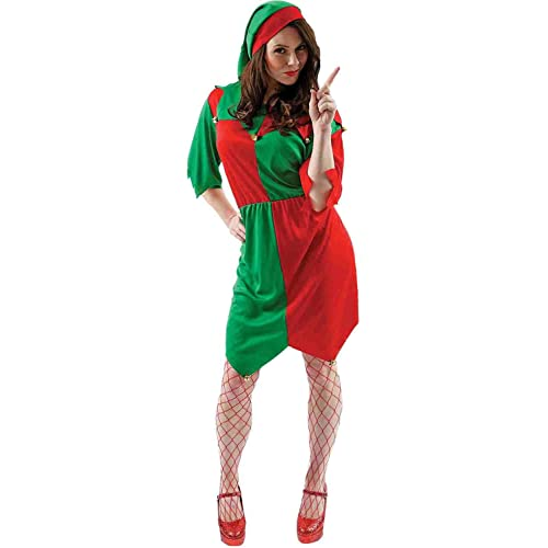 e72c043986 Womens Elf Christmas Film   TV Fancy Dress Costume