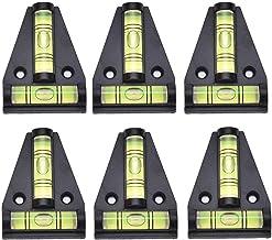 6 قطع مغناطيس على شكل حرف T مستوى فقاعات فقاعات الصليب مستوى الروح لآلات RVs Tripods آلات المقطورات الأثاث ضبط زاوية أفقي ...