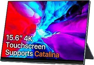 モバイルモニター モバイルディスプレイ cocopar 4K 15.6インチ タッチパネル 折り畳み式 薄い 軽量 3840*2160 UHD 自動回転対応 USB Type-C二つ/PD/HDMI 3年保証付 YC-156-4KR
