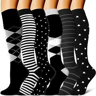 Copper Compression Socks Women & Men-Best For Athletic,Running,Nursing,Hiking,Travel and Pregnancy