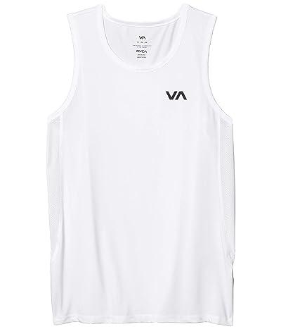 RVCA Sport Vent Tank (White) Men