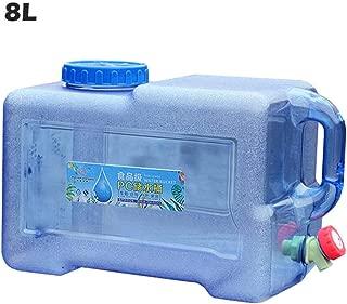 G-wukeer Acampar Contenedor De Agua con Grifo, Engrosamiento