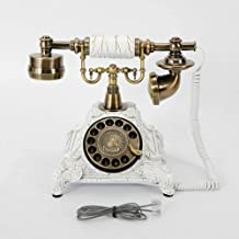 $71 » Royal Vintage Telephone Antique Desk Phone Corded Retro Phone Rotary Antique Dial Handset Corded Desk Home Office Vintage ...