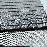 Moozic Küchenteppich -rutschfest Teppichläufer - Waschbar Küchenläufer - Pflegeleichte Teppich Küche - Vorleger Teppich - 40 x 120 cm / 40 x 60 cm 2 Stück,Braun - 5