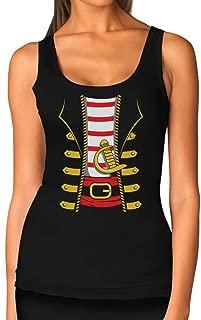 Halloween Pirate Buccaneer Costume Outfit Suit Women Tank Top