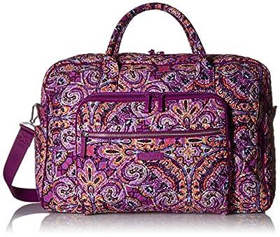 Vera Bradley Signature Cotton Weekender Travel Bag, Dream Tapestry