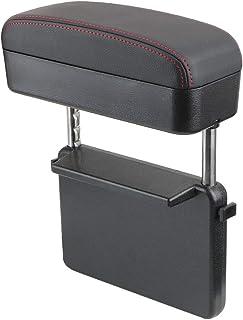 MOOHOP Couvercle daccoudoir de Console,/Étui de Protection Console Centrale,Housse de Console en Cuir pour accoudoir Central pour 2001-2008 Audi A4 B6 B7