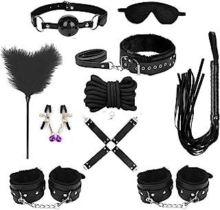 TissueDeep Leather Set with Adjustable Black Sports Kit of 10pcs