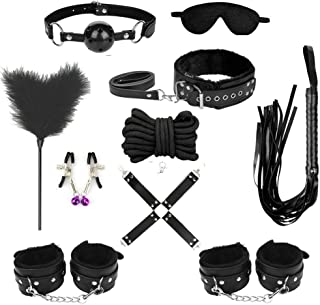 Novelty Clothing Accessory Kit Set of 10pcs BLACK