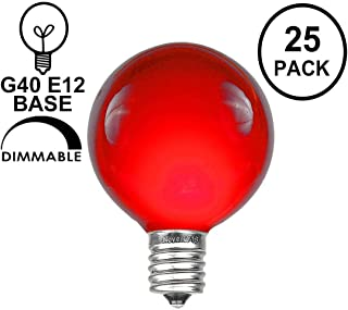 Best g40 colored replacement bulbs Reviews