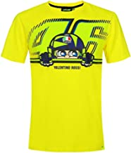 Valentino Rossi VR46 Moto GP Cupolino Yellow T-Shirt Official 2019