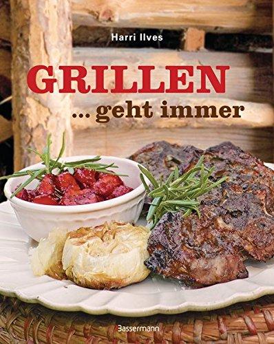 AV Andrea Verlag Grillen geht Immer Grillbuch Männegeschenk Geschenke für Männer im Geschenkeset Set mit Jack Daniels BBQ Sauce (Buch Grillen geht Immer 18037)