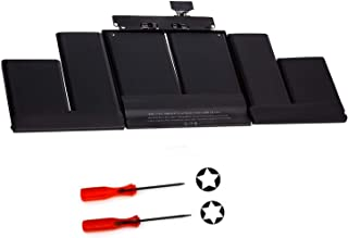 Runpower New A1417 Laptop Battery for MacBook Retina Pro 15 A1398(2012 Early-2013 Version)