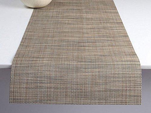 Chilewich Tischläufer Mini Basketweave Linen 36 x 183 cm