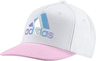 adidas Kids Girls Hat Training Cool Cap Fashion Logo White New Lifestyle