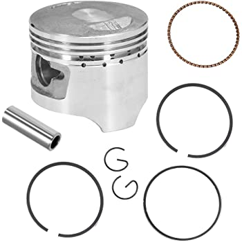 Zreneyfex Piston with Rings /& Head Gaskets Set for Honda CRF70 2004-2008 XR70 1997-2003 70CC Bike