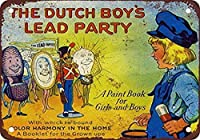 S-RONG雑貨屋 Dutch Boy Lead Paint ブリキブリキ 看板レトロ デザイン壁の装飾贈り物30x40cm