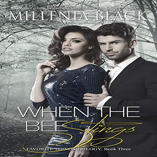 When the Bee Stings audiobook cover art