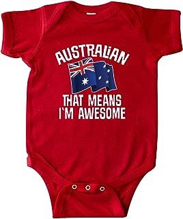 Australian Awesome Australia Country Flag Infant Creeper