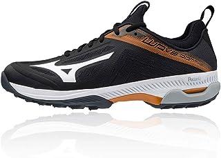 Mizuno Unisex Adults Wave Panthera Handball Shoe, Black/White, 10 UK