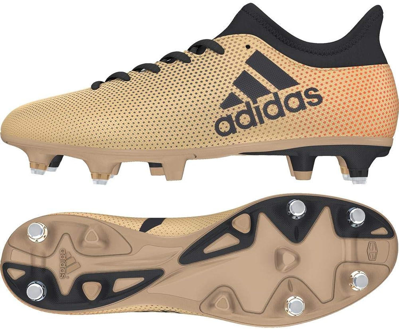 Adidas Herren X 17.3 Sg Fuballschuhe, Schwarz