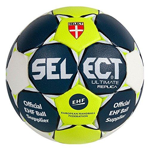 Select Handball Ultimate Replica, blau orange weiß