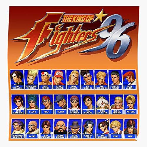 Sconosciuto The King 7 96 Fury 97 98 94 Waku Fatal 95 Fighters of Home Decor Wall Art Print Poster !
