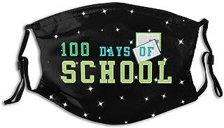Promini 100 dagars skola personlig munärm återanvändbar munskydd
