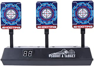 TOYANDONA Electronic Shooting Target Digital Scoring Targets Portable Shooting Spots Targets Practice Toys for Outdoor Ran...