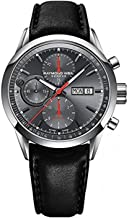 Raymond Weil Men's 7730-STC-60112 Freelancer Analog Display Swiss Automatic Black Watch