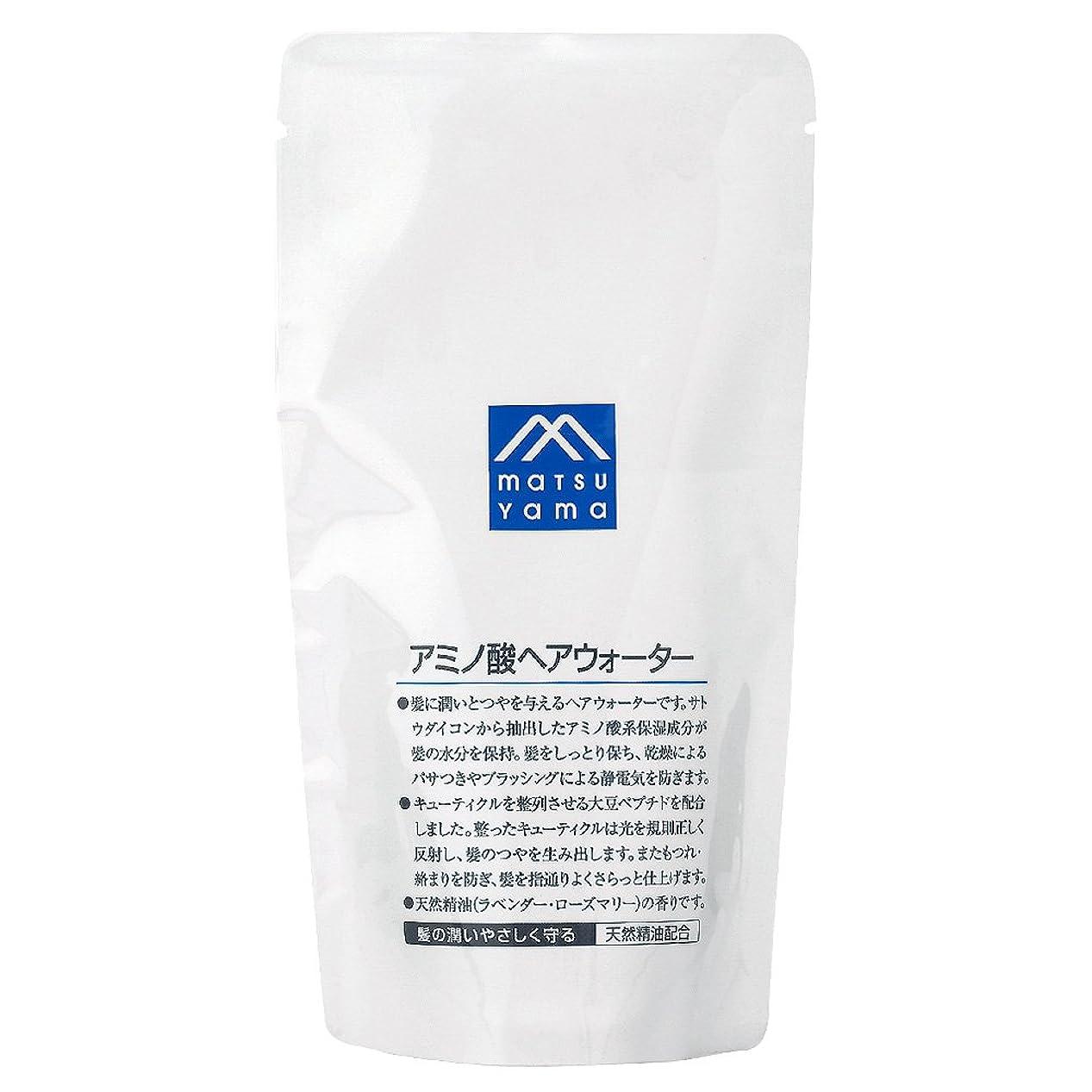 上流のポーズ花M-mark アミノ酸ヘアウォーター詰替用