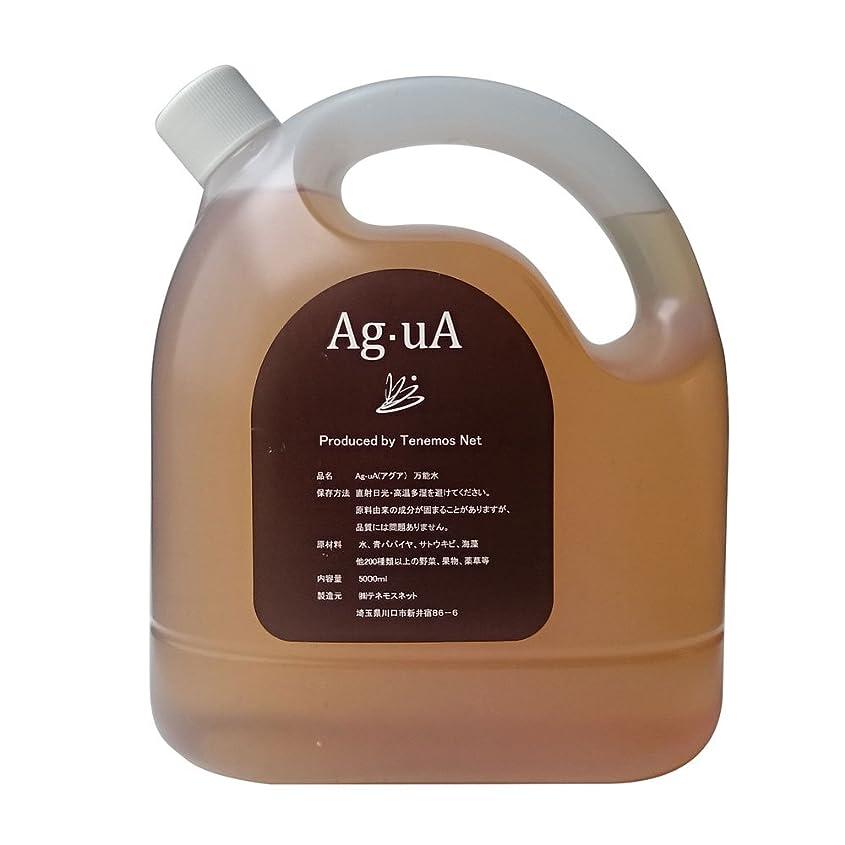 延ばす汚す別のテネモス 万能酵素水アグア Ag?uA 5リットル