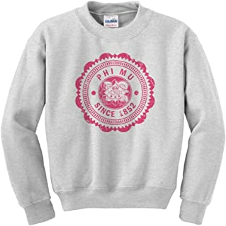 Phi Mu Seal Crewneck Sweatshirt