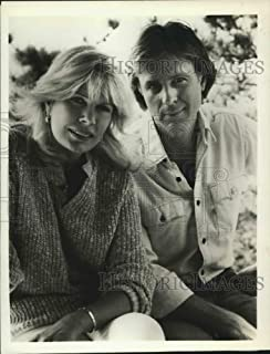 Historic Images - 1985 Press Photo Loretta Swit and Joel Higgins in First Affair