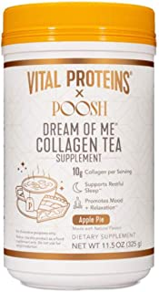 Vital Proteins X Poosh Collagen Powder Drink 11.5 Oz! Beauty-Boosting Collagen Blend! Supports Hair, Skin and Nail! Gluten...