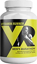 Men's Vitamin Runner: Run Faster & Recover Quicker with The Only Daily Multi-Vitamin Created for Runners Based On Weekly Miles. (30+ Miles)