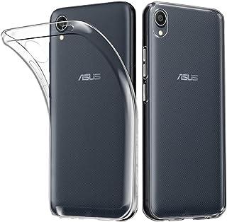 ASUS ZenFone Live (L1) ZA550KL ケース HUAKE ASUS ZenFone Live (L1) ZA550KL カバー ソフト 透明 TPU 素材 超薄型 背面カバー 超軽量 耐衝撃 落下防止 ASUS ZenF...