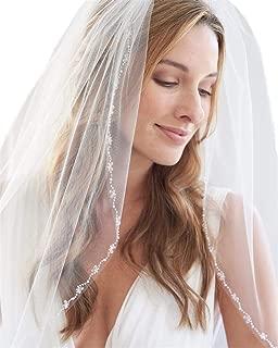 Passat Pearl Bridal Veil Beaded Wedding Bridal Veils H77