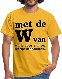 Spreadshirt Met De W Van Grappige Koningsdag Biertje Mannen T-shirt