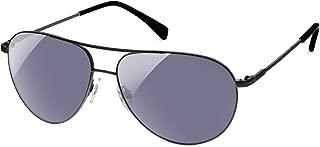 Color Blind Glasses - Atlas Gunmetal Aviator- Cx3 Sun For Deutan and Protan Color Blindness