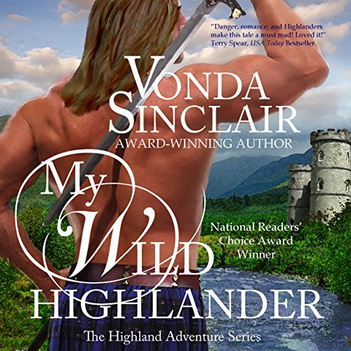 My Wild Highlander audiobook cover art