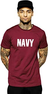 CURIOUS LIFESTYLE Men's T Shirts | Indian Navy T Shirts | Motivational T Shirts | Round Neck | Half Sleeves T Shirts | Ind...