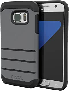 S7 Case, Crave Strong Guard Protection Series Case for Samsung Galaxy S7 - Slate